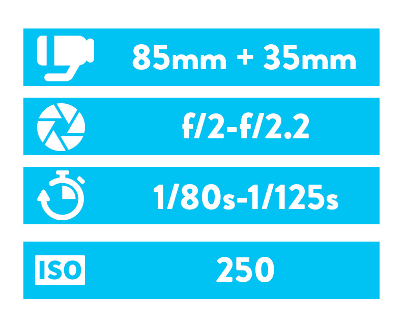 Cała sesja wykonana Canonem 5D MKIII z obiektywami Sigma 85mm oraz Canon 35mm