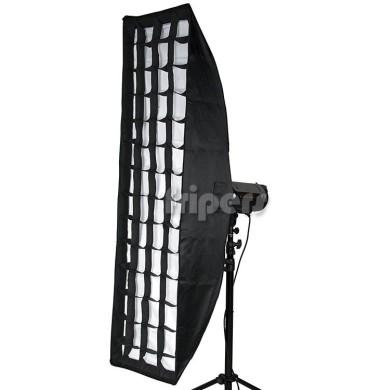 Softbox 35x140 z gridem
